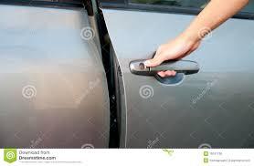 open car door royalty free stock image