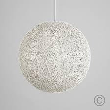 lighting shades ceilings. Modern Medium White Lattice Wicker Rattan Globe Ball Style Ceiling Pendant Light Lampshade Lighting Shades Ceilings