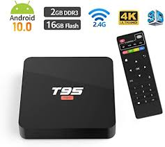 Android 10.0 TV BOX, <b>T95 SUPER Allwinner H3</b> Quad-Core CPU