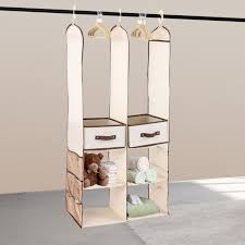 kids hanging closet organizer. Fine Closet 24Pcs Kids Children Nursery Closet Organizer Set Baby Clothes Hanging  Wardrobe Storage Inside