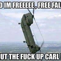 Free falling | Shut the fuck up, Carl | Know Your Meme via Relatably.com