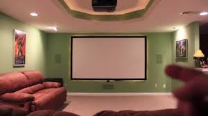 diy home theater screen projector screens reviews paint full size