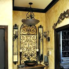 Wrought Iron Home Decor Accents Rustic Wrought Iron Wall Decor Medium Size Of Wrought Iron Home 12