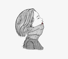 女の子 イラスト 線画 フリー ぬりえキッズ