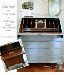 secretary desk makeover chalk paint by annie sloan before after