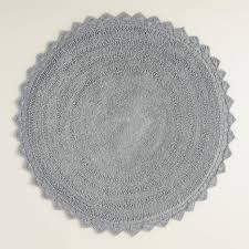 Small Round Bathroom Rugs With Design Photo Kaajmaaja