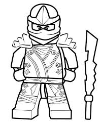 Lego Ninjago Kai Coloring Pages Cole Sweetestleafco