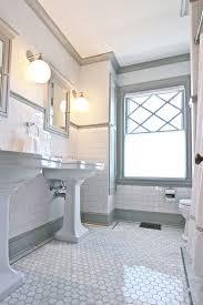Best Hexagon Tile Bathroom Ideas On Pinterest Shower White