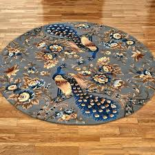 4 foot round blue rug ft round rug horse rugs runner foot wide blue fly 4 foot round blue rug