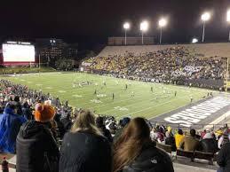 Vanderbilt Stadium Section I Row 31 Seat 23 Home Of