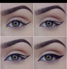 step by step winged eyeliner tips