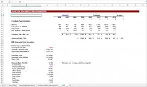Activision Blizzard Dcf Discounted Cash Flow Excel Model Eloquens