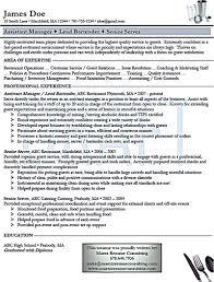 Bartenderesume Bullet Points Server Description Job Sample Head