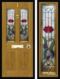 victorian stained glass panels