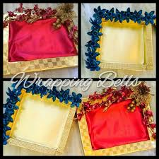 Gift Tray Decoration Wedding season nearinglooking for trays To order inquire 4