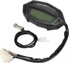 motorcycle digital lcd tachometer