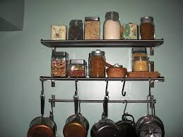 interesting diy kitchen shelving ideas with simple design