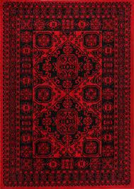 Image Safavieh Vintage Hamadan Rugs Express Afghan Classic Red Rug