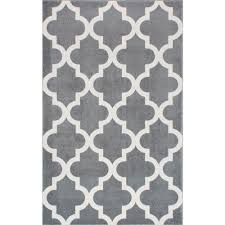 Home Depot NuLOOM Meeker Trellis Grey 9 Ft X 12 Area RugRZPL02A9012  The