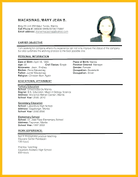 resume format for job interview free download format resume for job digiart