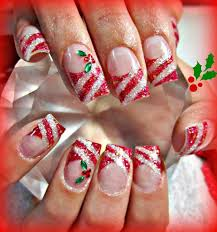 Christmas French Tip Nail Designs. christmas nail art designs 47 ...