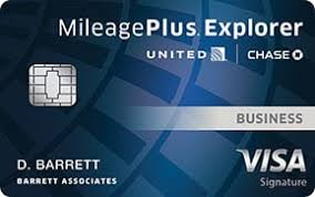 United Mileageplus Explorer Business Card Review
