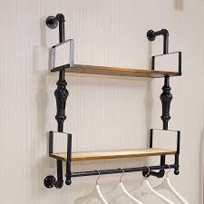 nicole camry on a wall mounted shelf