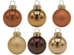 45 Weihnachtskugeln Christbaumkugeln Kupfer Braun Gold Christbaumschmuck Weihnachtsdeko