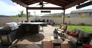 concrete patio and fire pit site allen decorative concrete escondido ca