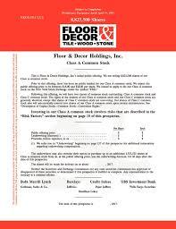 Floor Decor Holdings Inc