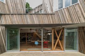 Modern Japanese Home this modern japanese home is made from recycled timber    hypebeast
