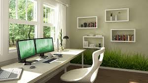 cool wall stickers home office wall. View In Gallery Home Office Green Grassy Wall Stickers Cool