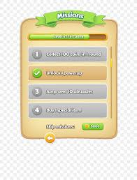 Free Design Games User Interface Design Game Graphical User Interface Png