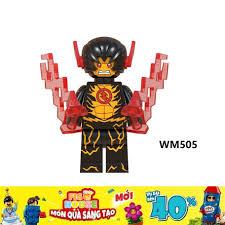 Non-LEGO] Nhân Vật Reverse Flash (Daniel West) WM505 - Đồ Chơi Lắp Ráp Xếp  Hình [A6]