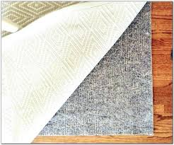 rug pad best place to carpet non slip mat natural rubber durahold 9x12 thickness of