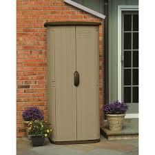 upright patio storage
