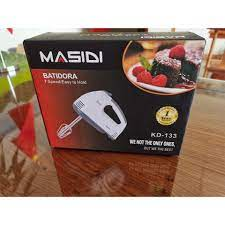 PVN14549 Máy Đánh Trứng Cầm Tay MASIDI 7 Cấp Độ T2 - Máy làm bánh Thương  hiệu No Brand