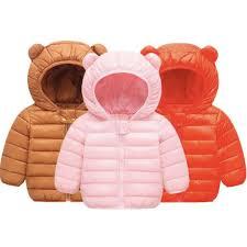 winter children outerwear parkas kids hooded cotton coats cute rabbit ear uni 1 6t children parkas toddler boys coats girls pea coats best winter coat