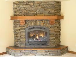oak fireplace mantel combination