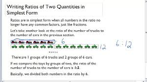 ratios in fraction form ratios in simplest form video arithmetic ck 12 foundation