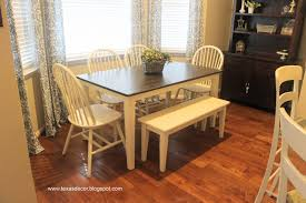 Painted Kitchen Table Texas Decor Painted And Stained Kitchen Table A Tutorial