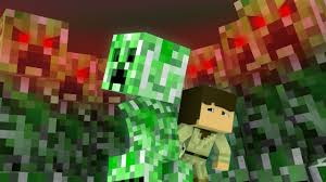 Minecraft | Life as a Creeper - HUMAN ...