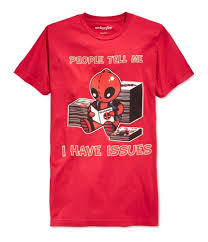 We Love Fine Size Chart We Love Fine Mens Deadpool I Have Issues Graphic T Shirt Men Women Unisex Fashion Tshirt Shirts Cool Crazy Design Shirts From Customtshirt201803