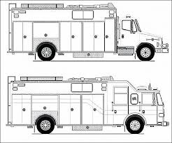 Coloring Pages For Boys Trucks Printable Fire Engine Coloring Page