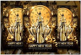 New Year Flyers Template New Year Party Flyer Template Happy New Year 2019 Pictures