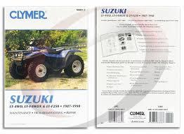 1987 1998 suzuki lt 4wd quad runner repair manual clymer m483 2 1987 1998 suzuki lt 4wd quad runner repair manual clymer m483 2 service