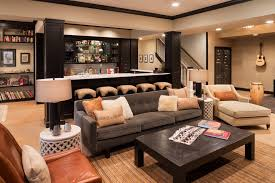basement bar lighting. bar front design ideas basement transitional with chaise lounge home seating lighting
