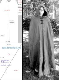 Hooded Cloak Pattern