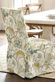 patterned slipcovers are an easy update