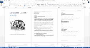 Software Design Document Sample Doc Database Design Document Template Software Development